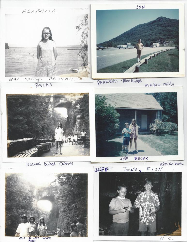 The Photos of the 1970 Trip (2/6)
