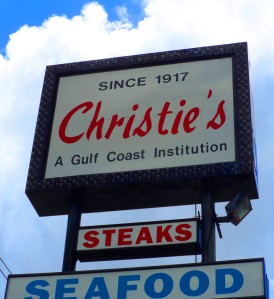 Christie's sign