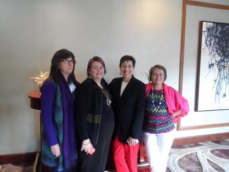 Denise, Fern, Sarah, Me