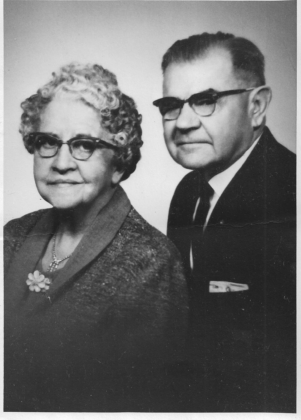 grandma and grandpa 1963